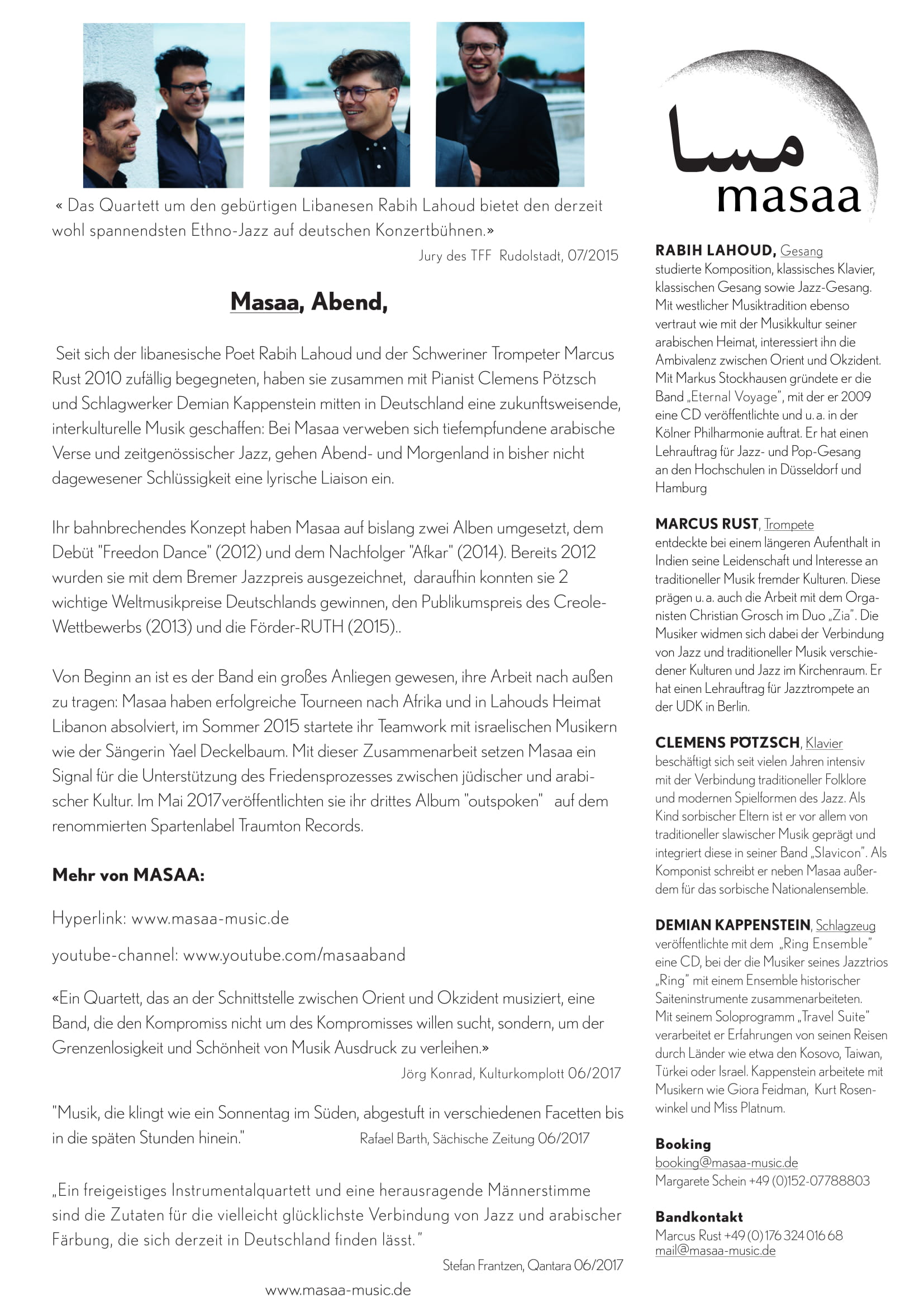 MASAA Pressetext 2017-1