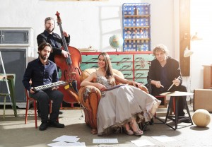 Oxana Voytenko quartet Bandfoto